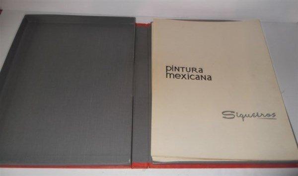 Pintura Mexicana book of prints by Siqueiros - 2