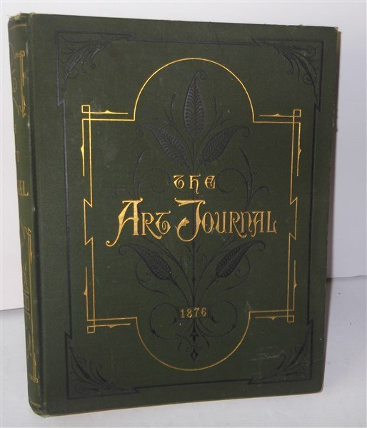 1876 The Art Journal book