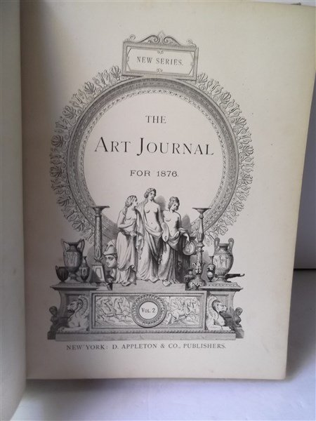 1876 The Art Journal book - 4