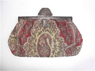 9th c. beaded purse