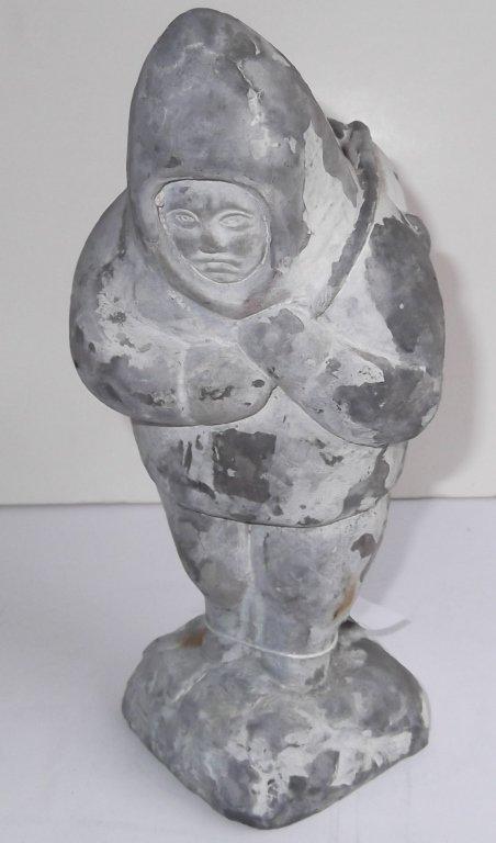 Inuit Eskimo soapstone Carving