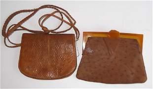 2 Vintage purses/pocketbooks