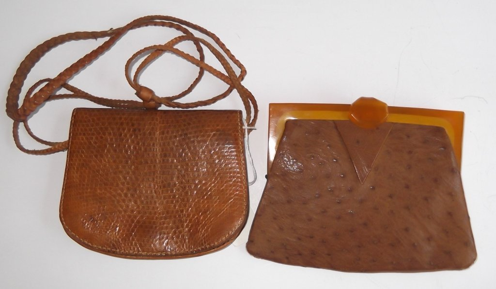 2 Vintage purses/pocketbooks