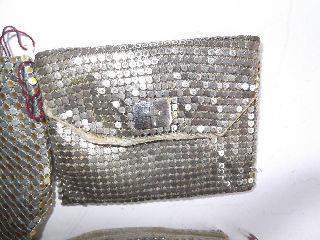 5 vintage mesh purses - 5