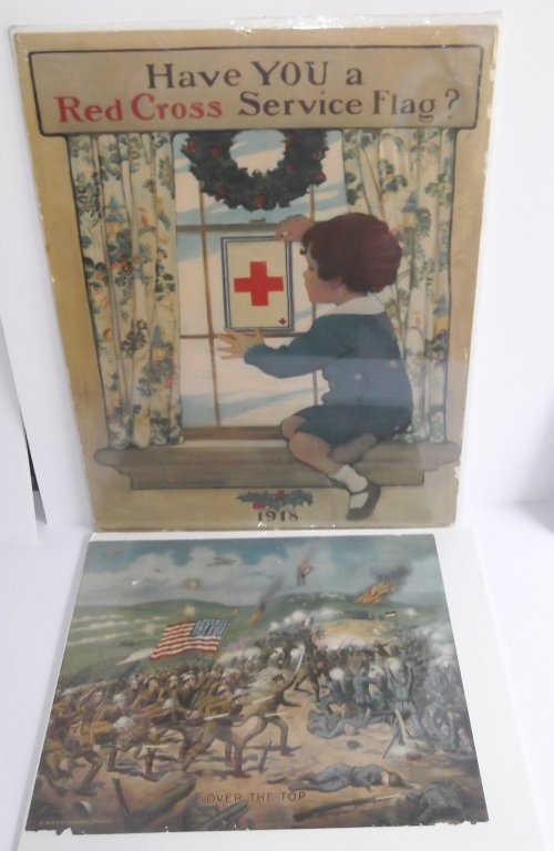 2 1918 WWI posters