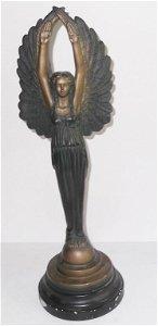 Angel statue by Austin sculpture