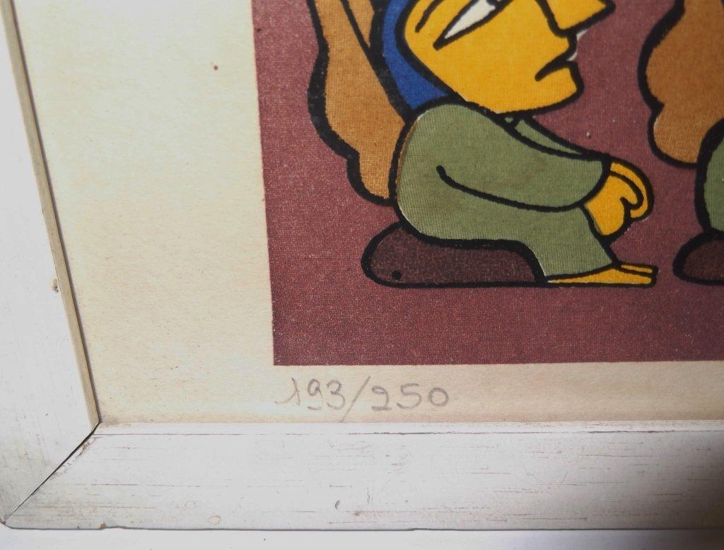 Serigraph signed in plate Raimundo De Oliveira - 5