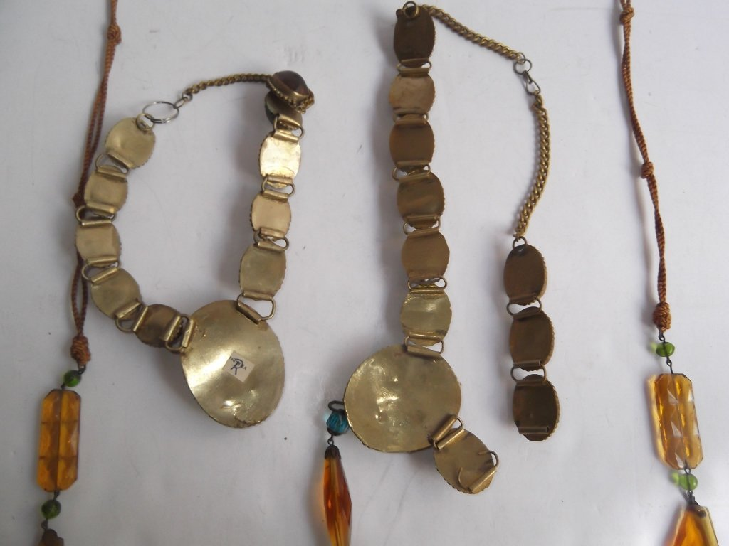 6 1960's Persian necklaces - 8