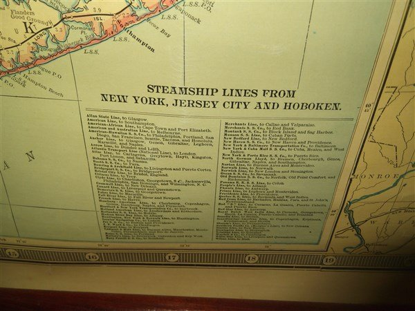 scarborough's map of new york 1903 - 5