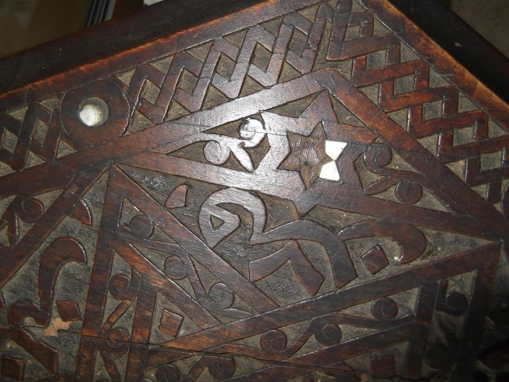 Vintage Moroccan table - 2