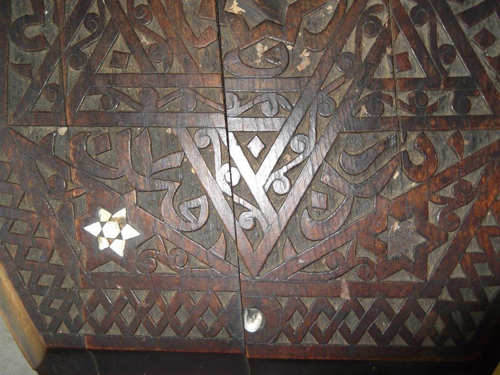 Vintage Moroccan table - 8