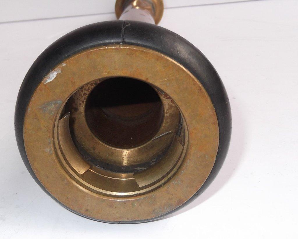 2 brass fire nozzles - 10