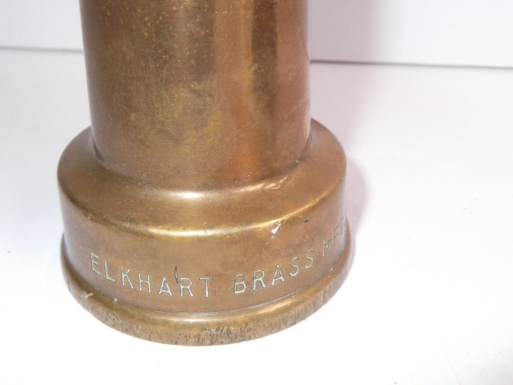 2 brass fire nozzles - 8