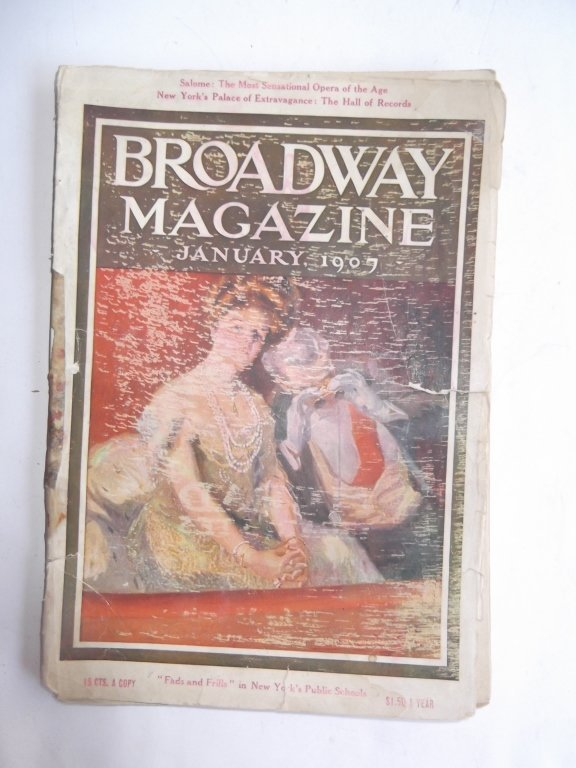 4 early 1900's magazines - 4