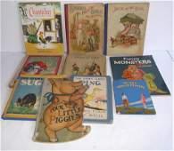 10 antique/vintage children's books