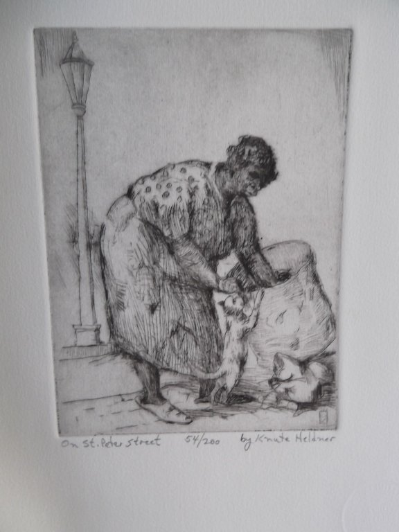3 etchings by Knute Heldner - 4