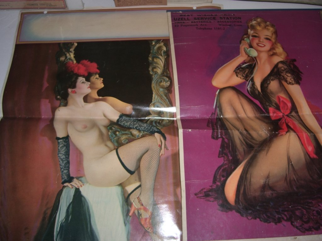 Collection of 10 advertising calendars - 2