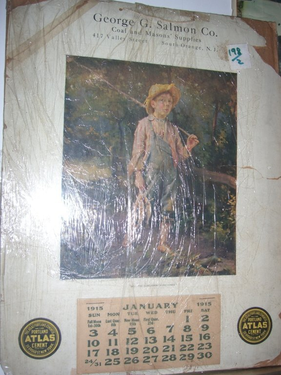 Collection of 10 advertising calendars - 3