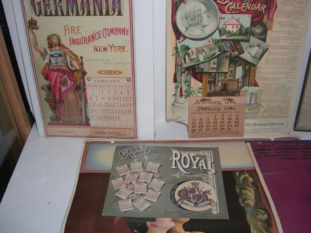 Collection of 10 advertising calendars - 6