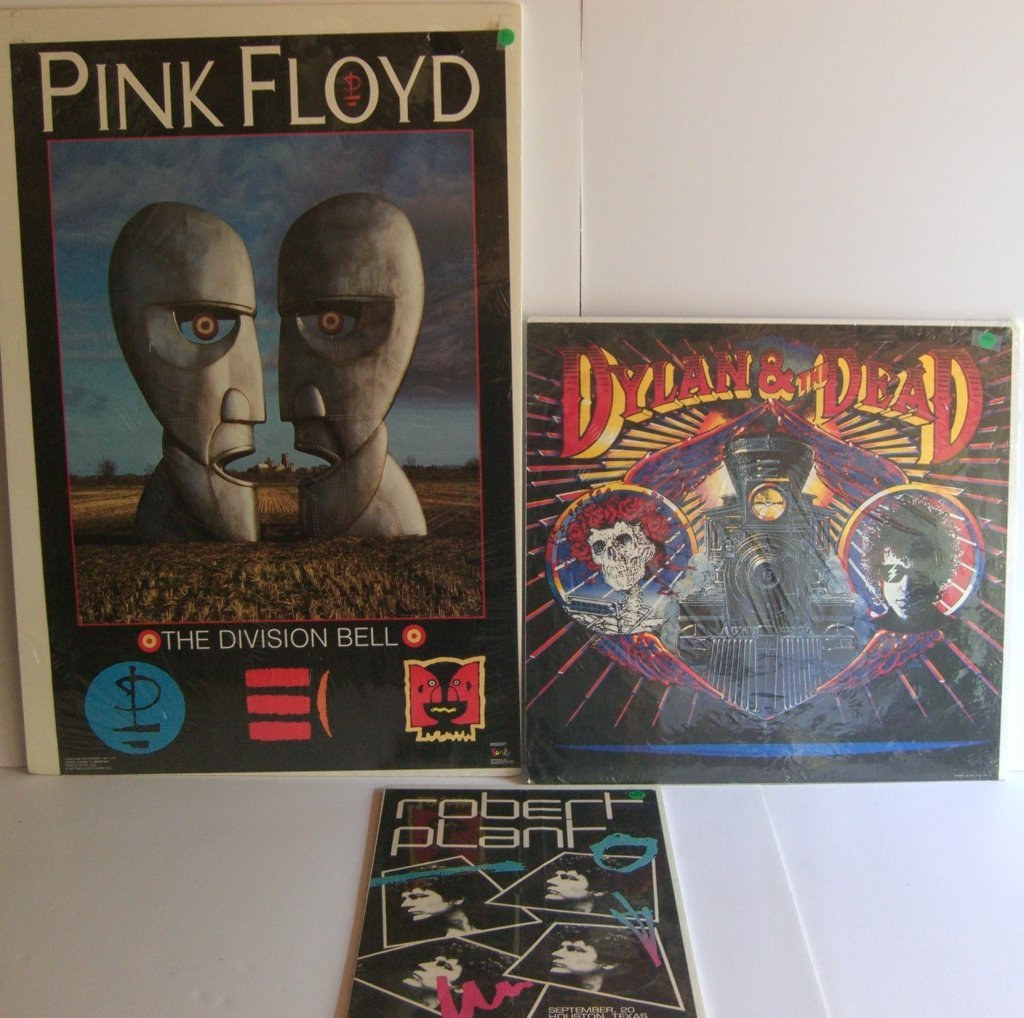 3 music posters