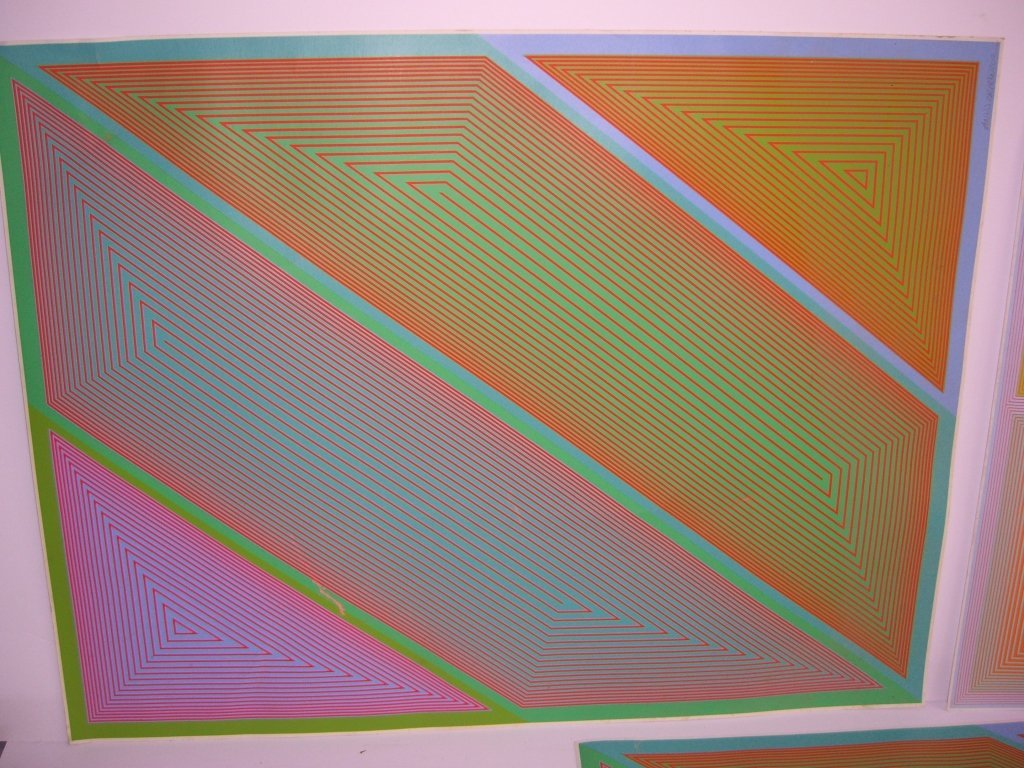 3 1970's abstract lithographs - 2