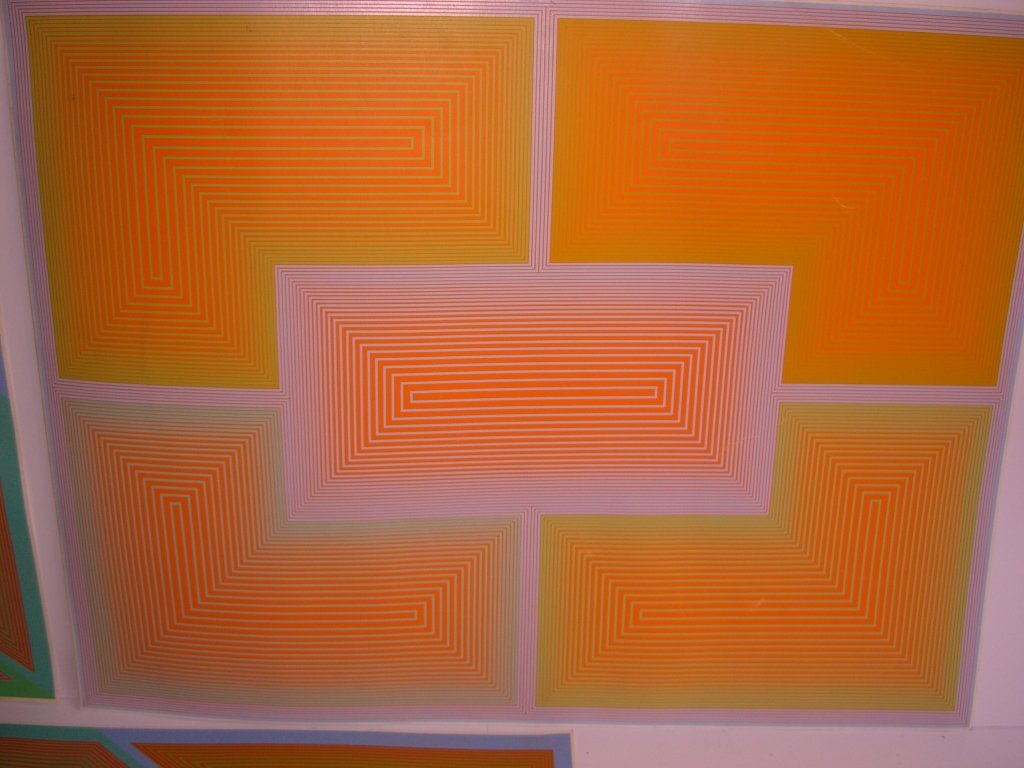 3 1970's abstract lithographs - 4