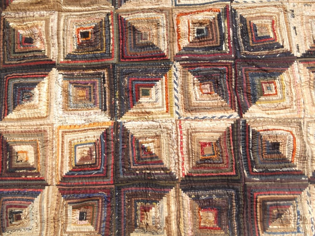 American hand made quilt cover - 2