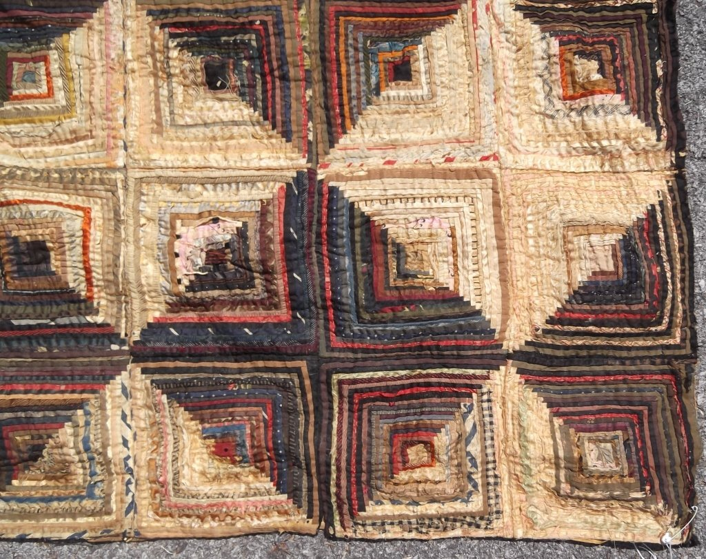 American hand made quilt cover - 7
