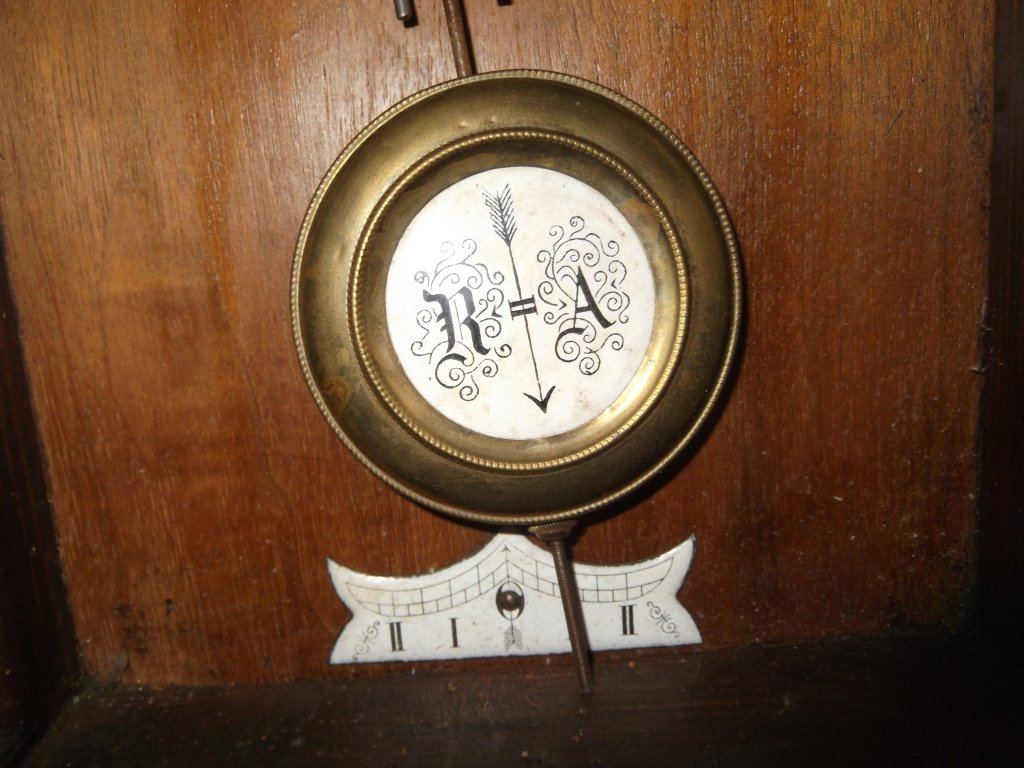 Vintage wall hanging clock - 7