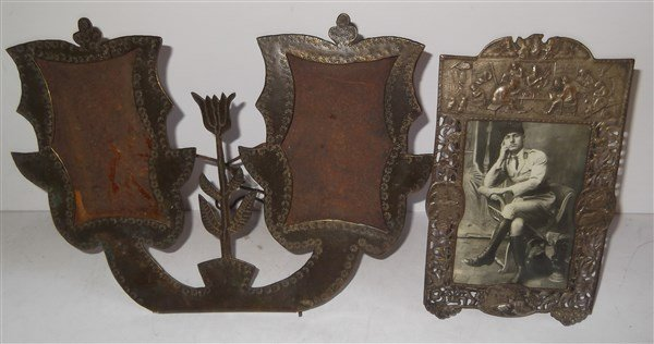 2 19th/20th c. picture frames