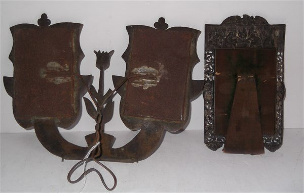 2 19th/20th c. picture frames - 7