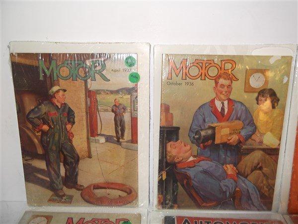 6 car/automobile magazines - 2