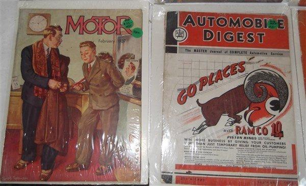 6 car/automobile magazines - 4