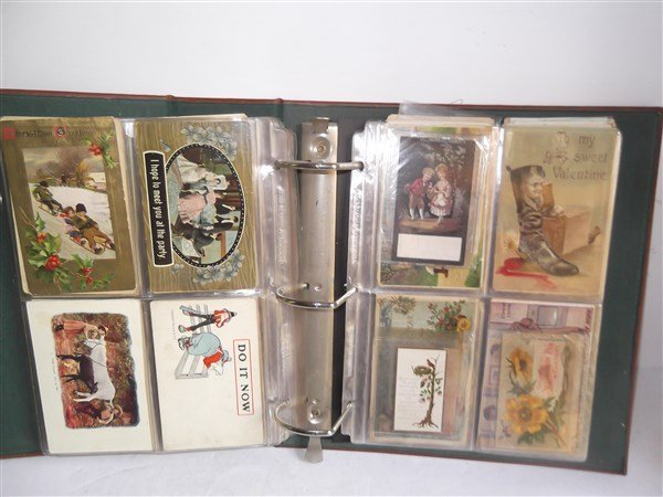 antique & vintage postcards & advertising cards