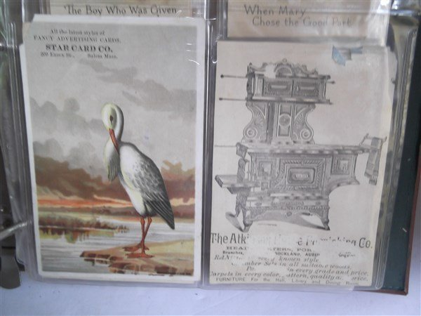 antique & vintage postcards & advertising cards - 7