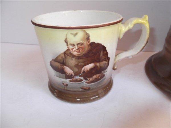 La Francaise porcelain pitcher & beer cups - 4