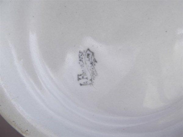 La Francaise porcelain pitcher & beer cups - 6