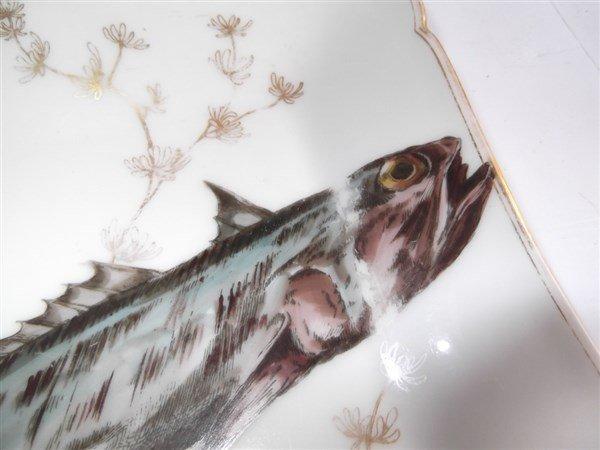 10  Haviland Limoges square fish plates - 5