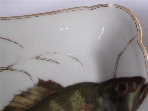 10  Haviland Limoges square fish plates - 6