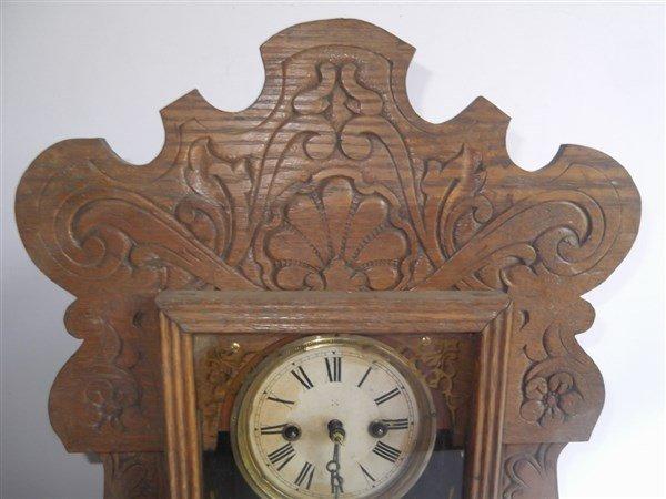 Gingerbread mantle clock - 2