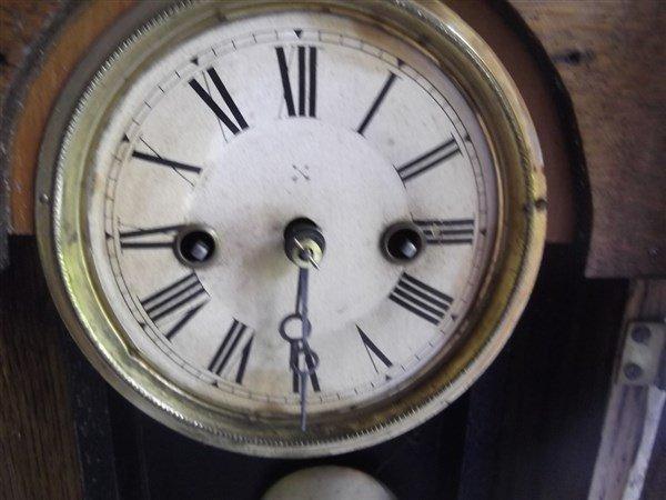 Gingerbread mantle clock - 3