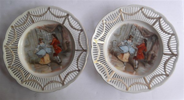 7 piece decorative plates lot - 2
