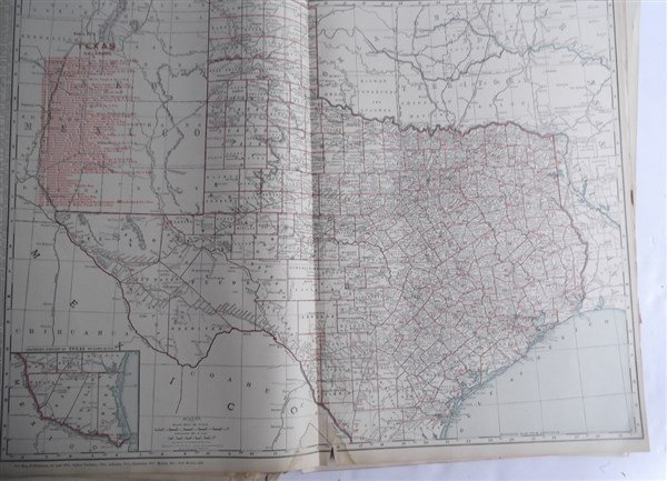 Large collection of over 75 book maps - 5