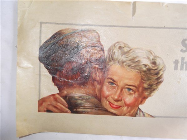 2 WWII c. 1941-1945  American Oil Company posters - 3
