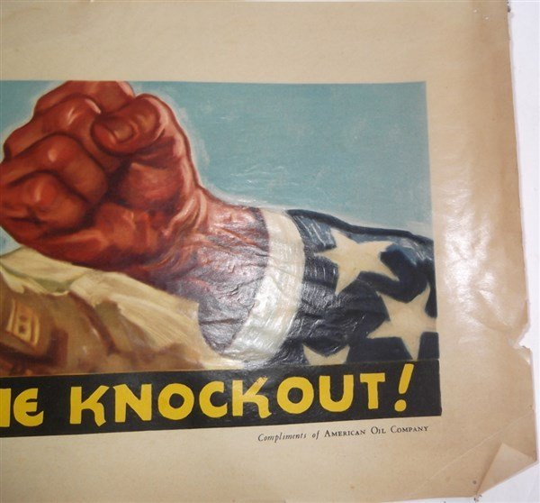 2 WWII c. 1941-1945  American Oil Company posters - 5
