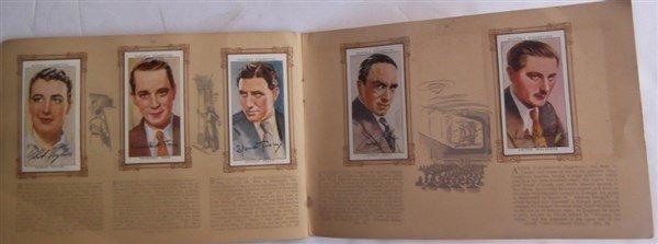 John Player & sons cigarette film star collectors - 2