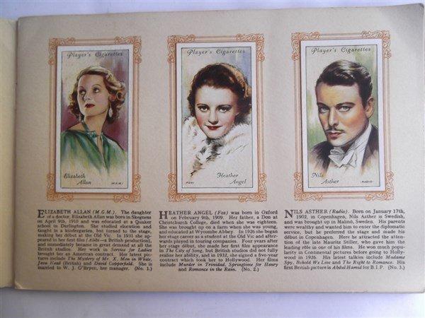 John Player & sons cigarette film star collectors - 4