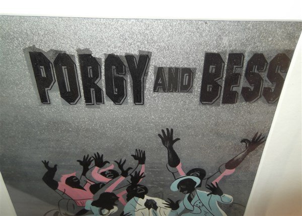 Illustration drawing of Porgy and Bess - 3