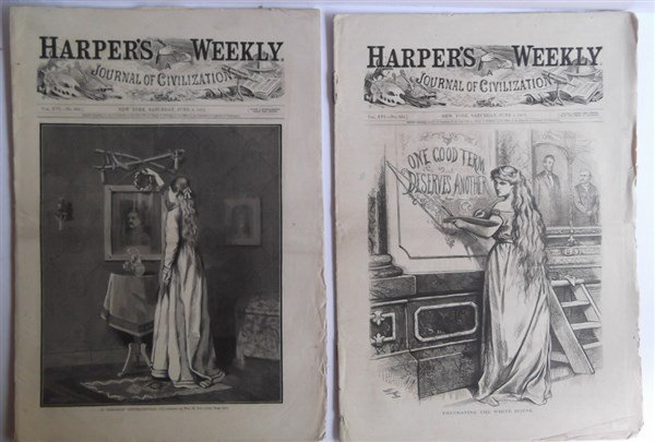 20 1870's Harper's Weekly - 10