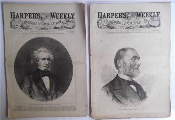 20 1870's Harper's Weekly - 4
